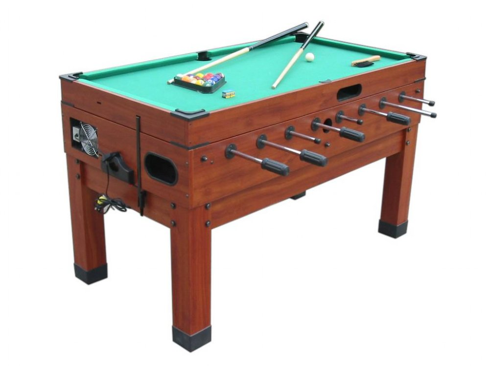 13 in 1 combination game table in cherry the danbury