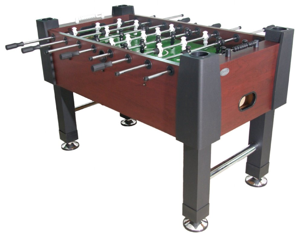 Berner Billiards Quot The Player Quot Foosball Table In Mahogany