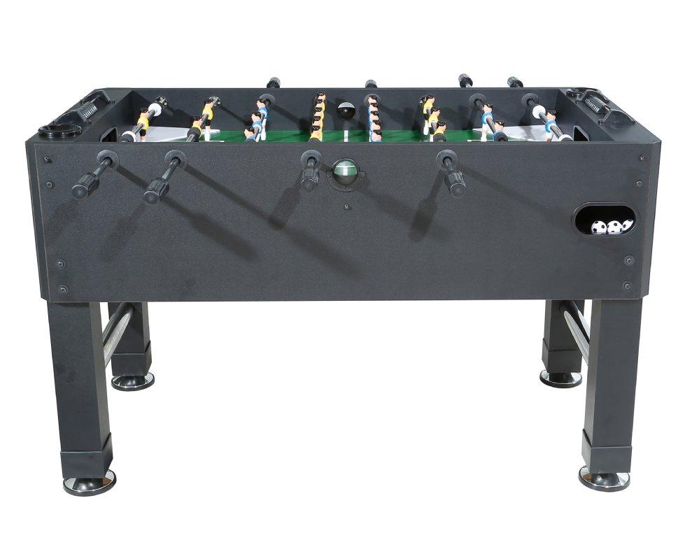 Berner Premium Foosball Table In Black Choice Of 1 Man