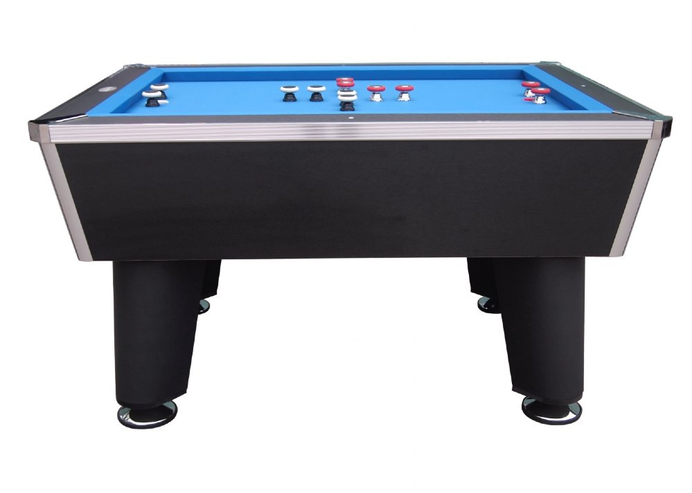 Berner billiards the brickell pro slate bumper pool table in black free shipping - Bumper pool bumpers ...