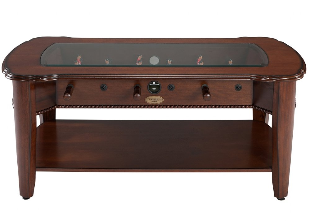 the maxwell 2 in 1 foosball coffee table in mahogany by. Black Bedroom Furniture Sets. Home Design Ideas