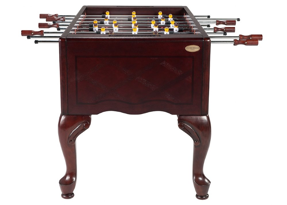 Queen Anne Furniture Foosball Table In Mahogany FREE SHIPPING