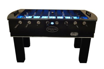 The Neon Foosball Table In Black With Light Up Glow