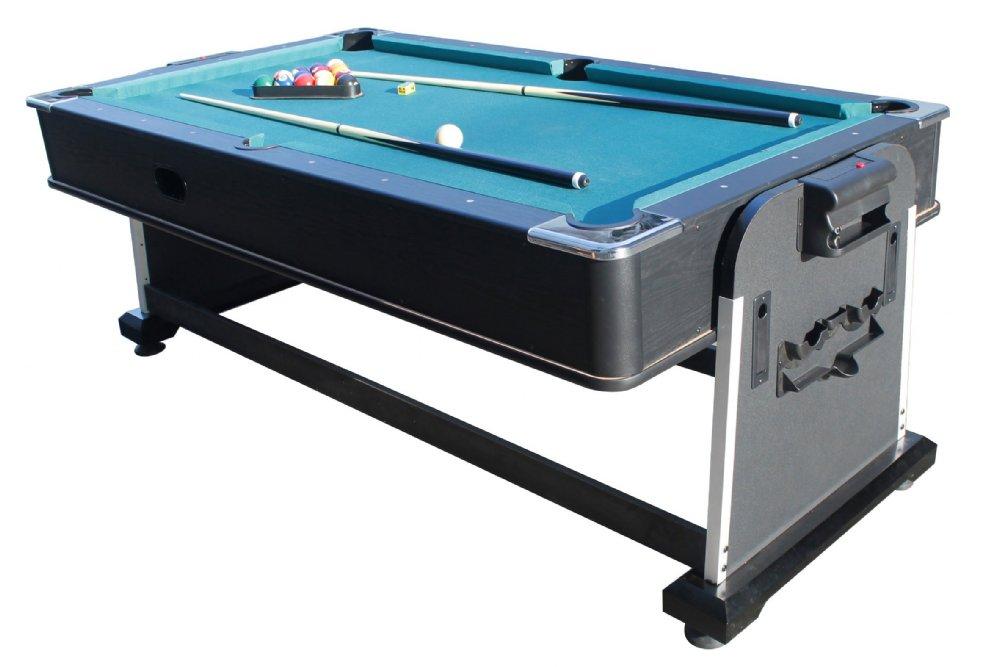 Berner billiards 3 in 1 multi game table pool air hockey ping pong - Table billard ping pong ...