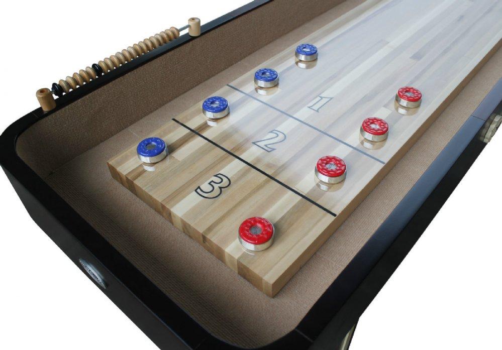 Berner Billiards Premier Limited Edition Shuffleboard Table in 9 or