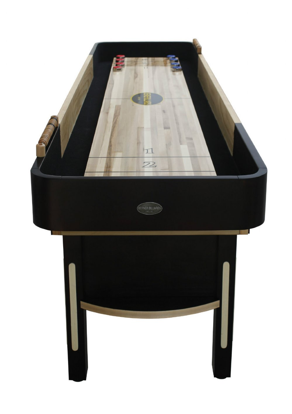 Berner Billiards Premier Limited Edition Shuffleboard Table in