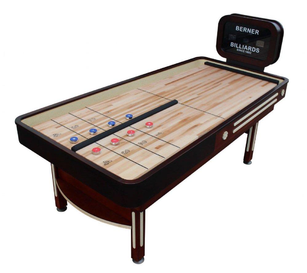 Rebound Limited Model Shuffleboard Table By Berner