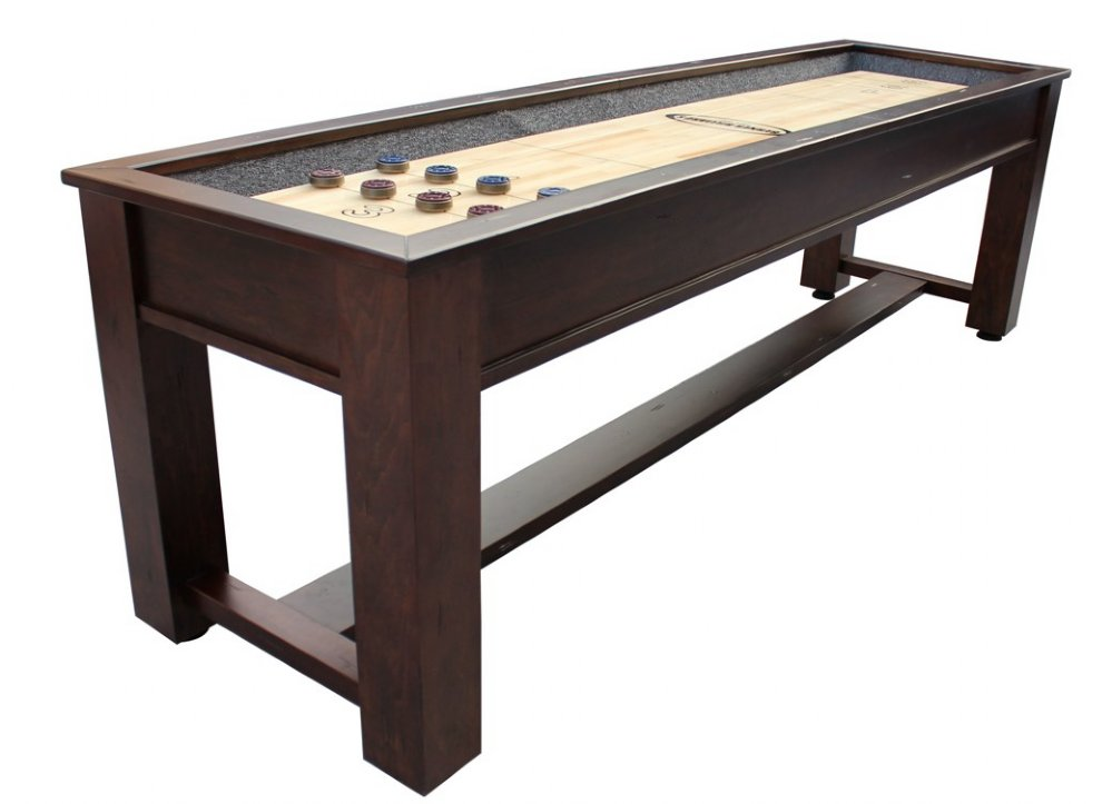 Berner Billiards 9 12 14 or 16 Foot Shuffleboard Table The