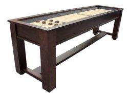 Berner Billiards 9 12 14 or 16 Foot Shuffleboard Table The Rustic