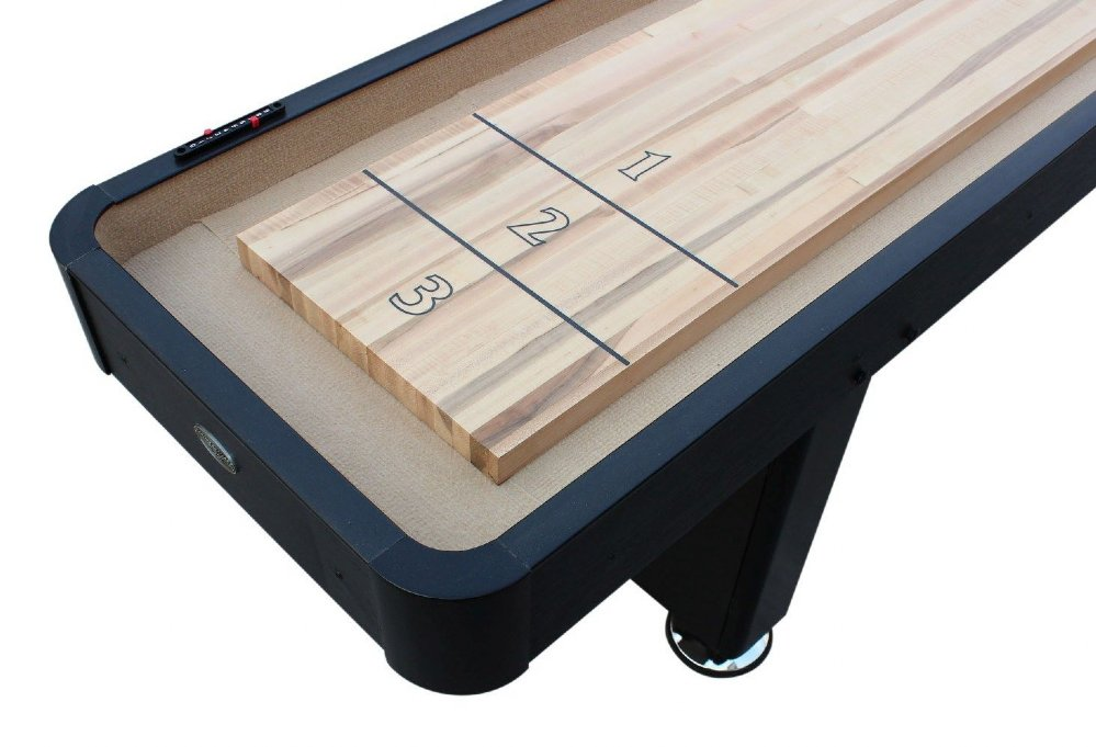 Berner billiards 9 or 12 foot shuffleboard table the for 12 foot shuffle board table
