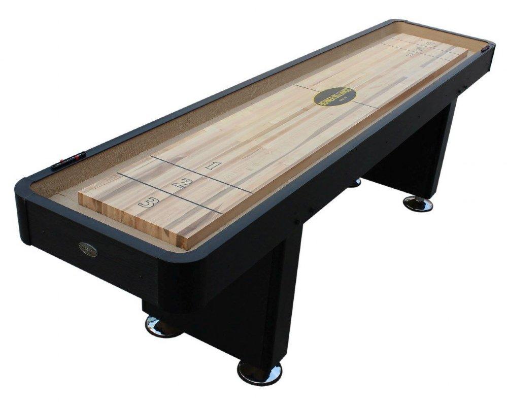 Berner Billiards 9 or 12 Foot Shuffleboard Table The Standard in