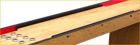 Berner Billiards 16 Foot Shuffleboard Table The Standard in Cherry