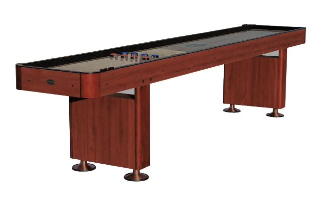 12 foot shuffleboard table the standard cherry berner for 12 foot shuffle board table