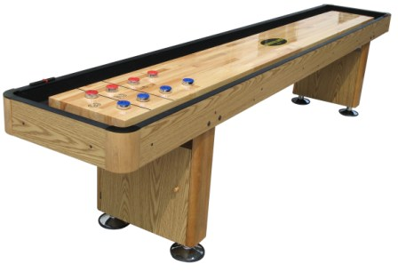 12 foot shuffleboard table the standard in oak berner for 12 foot shuffle board table
