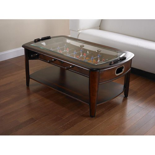 Chicago Gaming Signature Foosball Coffee Table Model - Foosball coffee table with stools