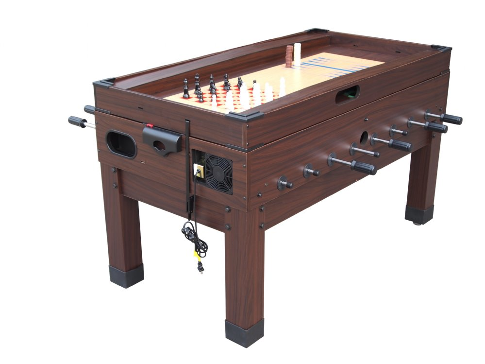 13 In 1 Combination Game Table In Espresso FREE SHIPPING