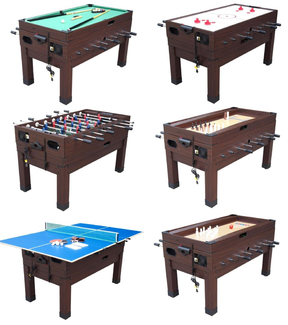 13 In 1 Combination Game Table In Espresso FREE SHIPPING   OUT OF STOCK