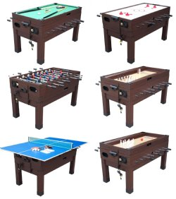 13 in 1 combination game table in espresso the danbury for 13 in 1 game table