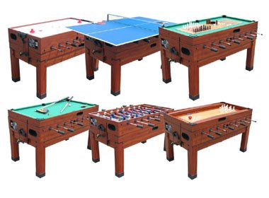 13 In 1 Combination Game Table In Cherry U003cBRu003eFREE SHIPPING