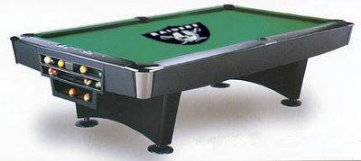 Oakland Raiders Billiard Cloth