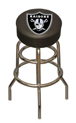Oakland Raiders Bar Pub Stool
