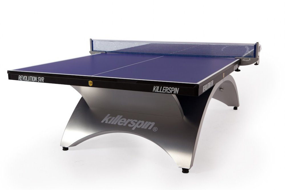 Charmant Killerspin Revolution SVR Table Tennis / Ping Pong   Blue U0026 Silver FREE  SHIPPING