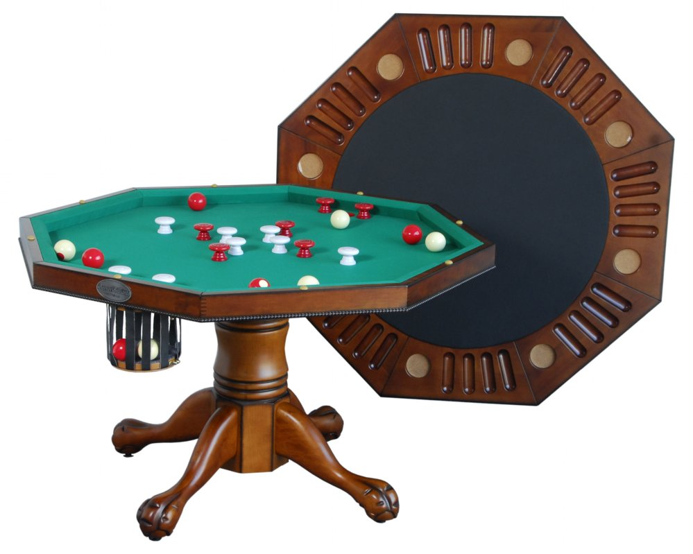 Berner Billiards 3 in 1 Table Octagon 48 wBumper Pool  : 3in1poker aw1768detail from www.gametables4less.com size 999 x 799 jpeg 78kB