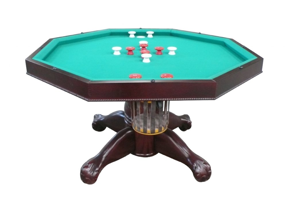 3 in 1 table octagon 48 table with slate bumper pool for Table 3 en 1