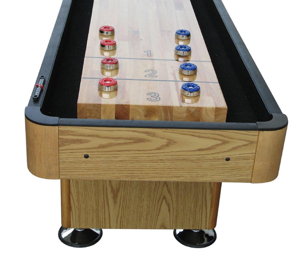 Shuffleboard Table Berner Billiards Foot Shuffleboard Table The - Standard shuffleboard table