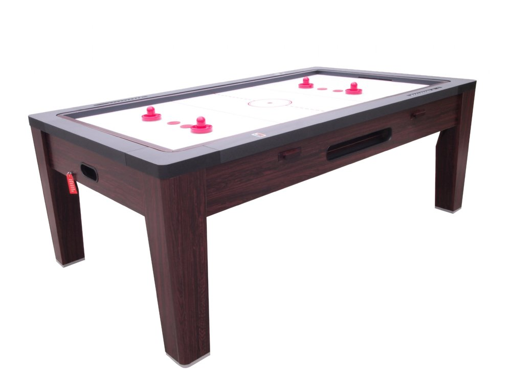 6 in 1 multi game table in walnut by berner billiards shipping