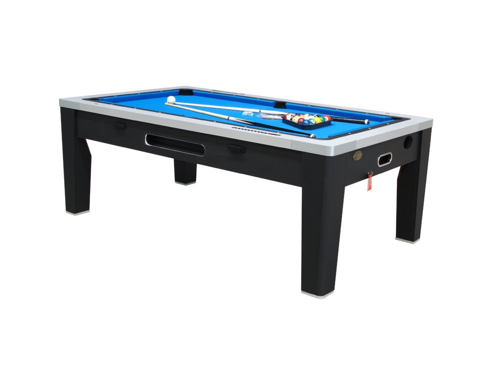 6 In 1 Multi Game Table In Black By Berner Billiards U003cbru003e FREE SHIPPING