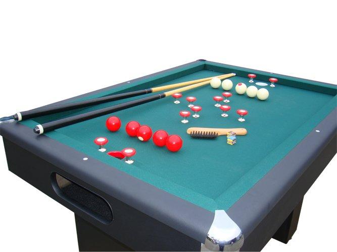 Berner billiards slate bumper pool table in black free shipping - Bumper pool bumpers ...