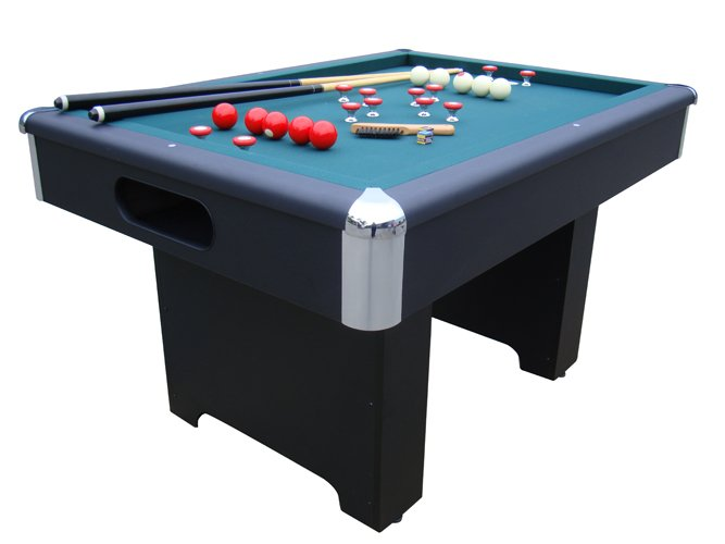 slate bumper pool table in black by berner billiards free shipping - Slate Pool Table