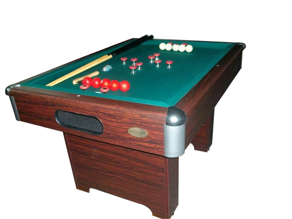 Berner billiards slate bumper pool table in walnut free shipping - Photos of pool tables ...