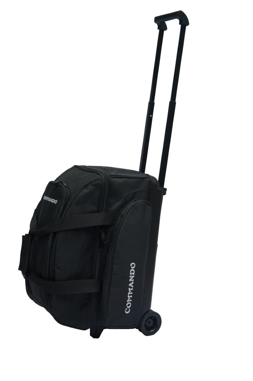 The Commando 2 Ball Double Roller Bowling Ball Bag In