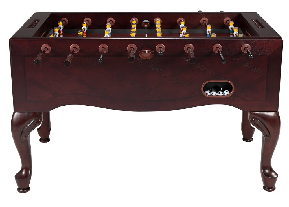 Attirant Queen Anne Furniture Foosball Table In Mahogany FREE SHIPPING