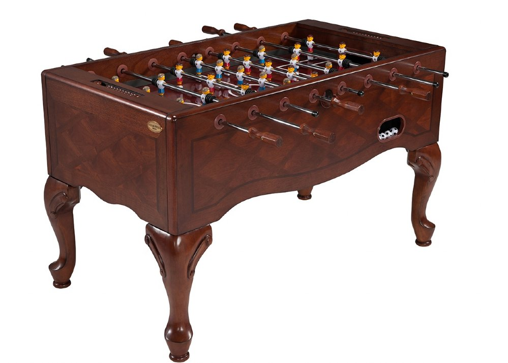Queen Anne Furniture Foosball Table In Walnut Br Free Shipping