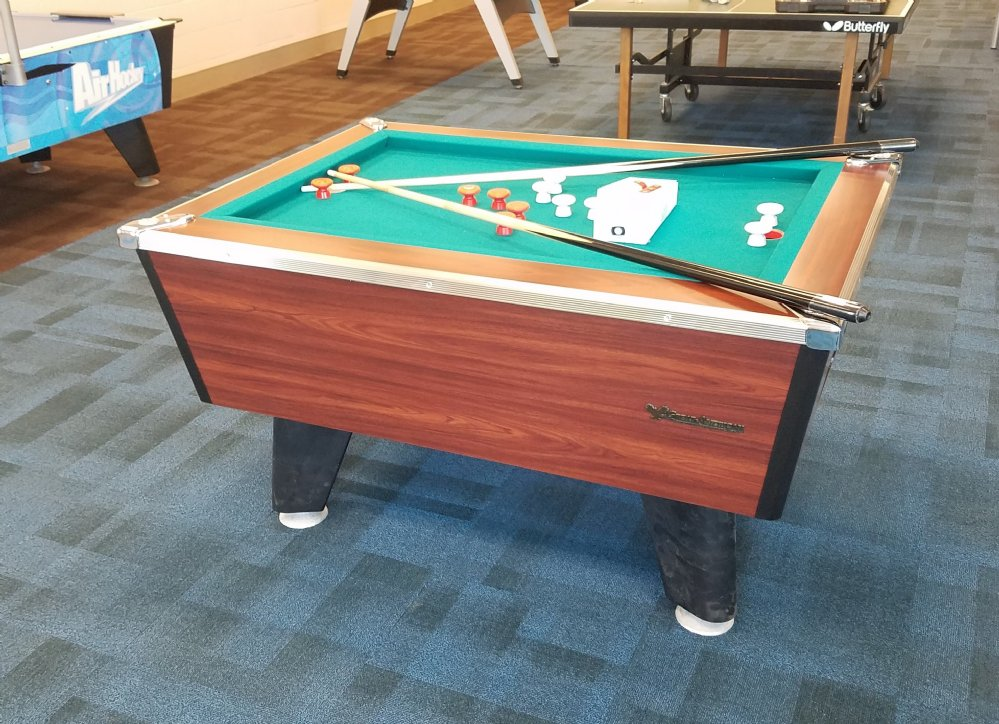 Great american slate bumper pool table for home non coin - Bumper pool bumpers ...