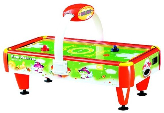 6 Foot Magic Mushroom Air Hockey Table By Berner Billiards U003cBRu003eFREE  SHIPPING