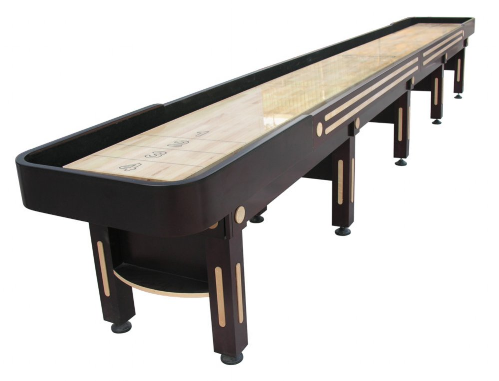 Shuffleboard table berner billiards shuffleboard table for 12 foot shuffle board table