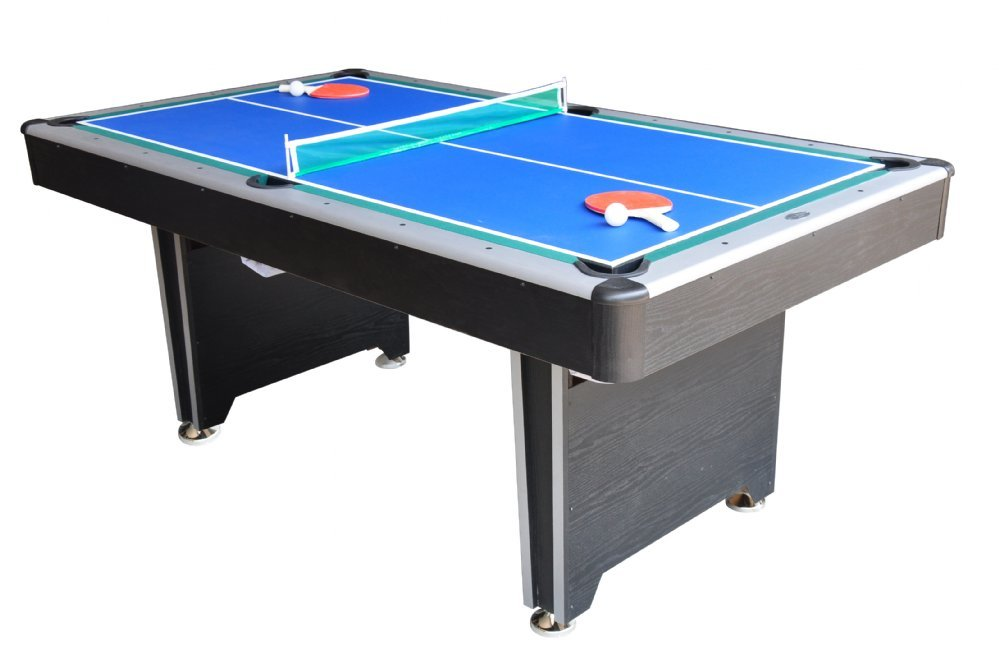 Berner billiards 3 in 1 multi game table pool hockey for 10 games in 1 table
