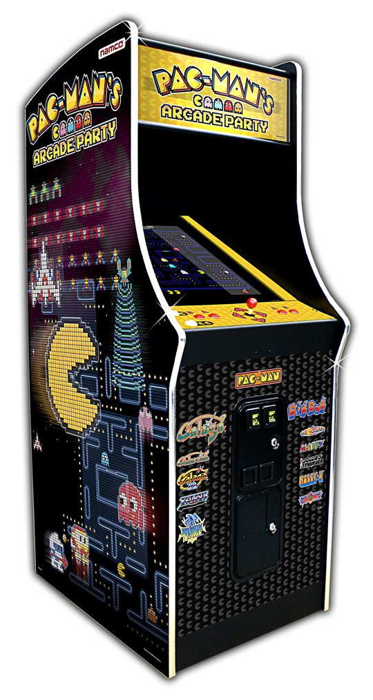 Namco Pac-Man's Arcade Party Video Game Coin-Op Cabaret Cabinet ...
