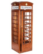 english style replica telephone booth in shipping summer sale