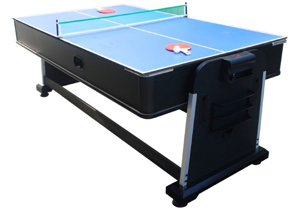 Billiards 3 in 1 multi game table pool air hockey amp for 10 pool table