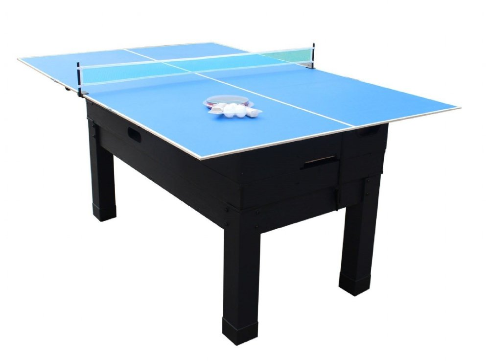 13 in 1 Combination Game Table in Black : The Danbury : Foosball Table : Air Hockey : Pool Table ...