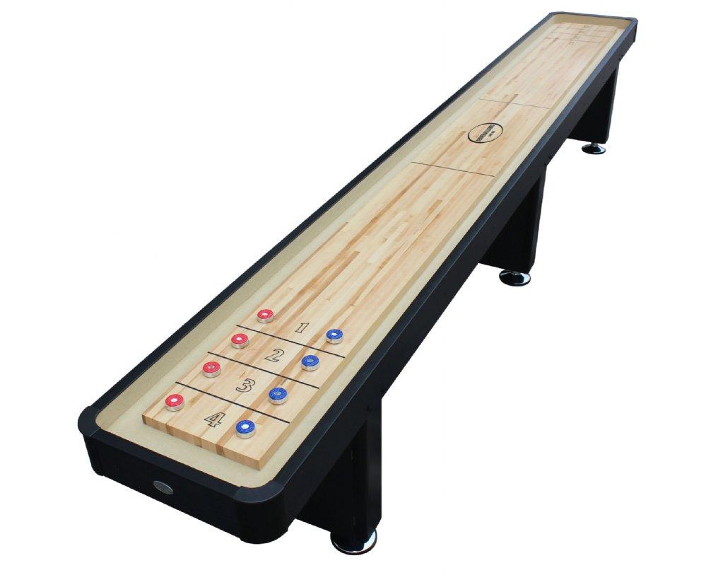 Berner Billiards Or Foot Shuffleboard Table The Standard In - 12 foot shuffleboard table for sale