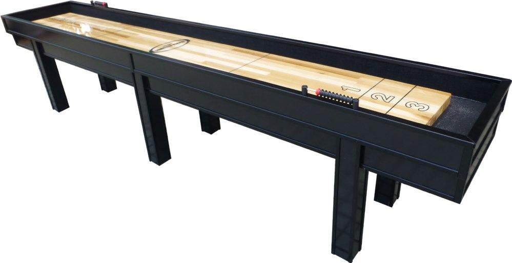 Berner billiards 9 or 12 foot shuffleboard table the for 12 foot shuffleboard table dimensions