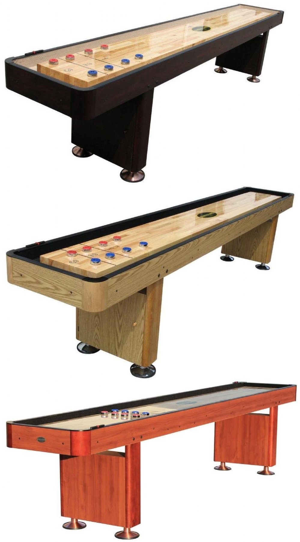 Shuffleboard table berner billiards 12 foot shuffleboard for 12 foot shuffle board table
