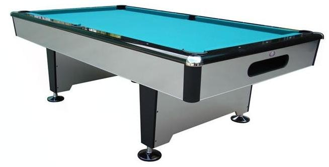 Berner Billiards Foot Silver Shadow Billiard Pool Table FREE - 9 slate pool table