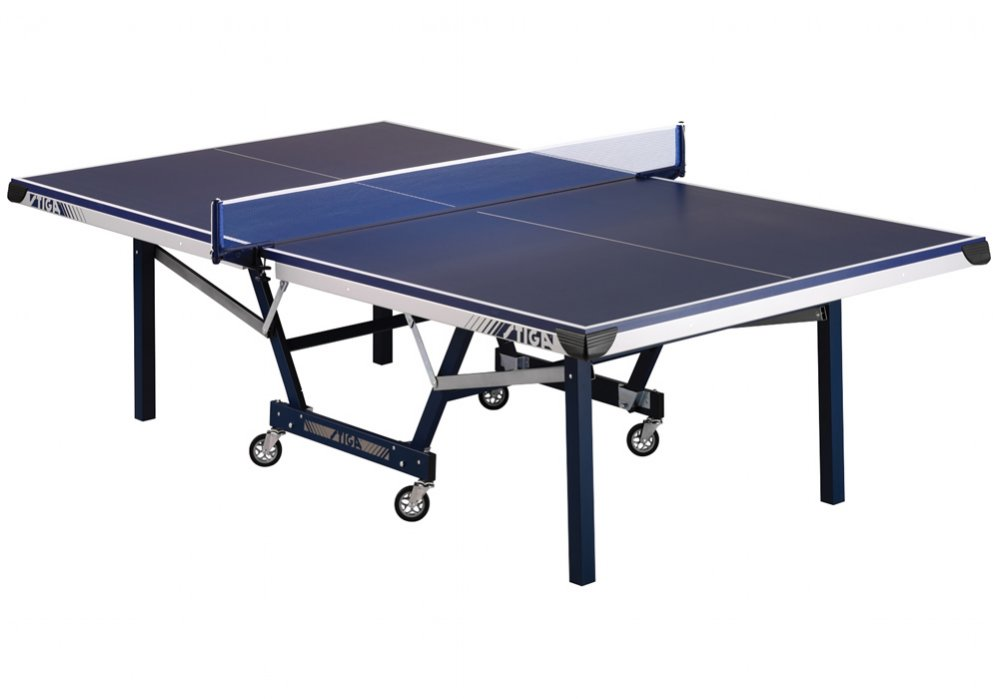 stiga sts 410q tournament series table tennis ping pong table t8504 upc 754806115474. Black Bedroom Furniture Sets. Home Design Ideas